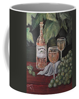 Grape Leaves And Wine Coffee Mug