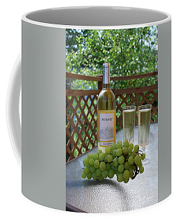 Grapes And Wine Coffee Mug