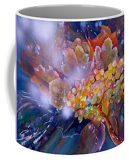 Grapes In A Misty Autumn Night Coffee Mug