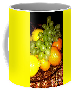 Grapes, Mandarins, Lemons Coffee Mug
