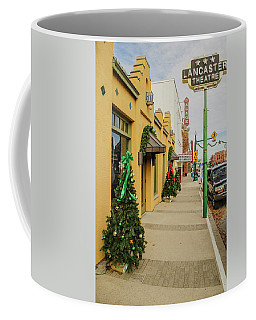 Grapevine Texas At Christmas Coffee Mug