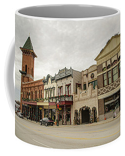 Grapevine Texas Downtown Coffee Mug