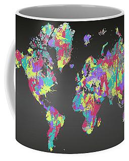Graphic Art Crazy Wanderlust - Splashes Coffee Mug