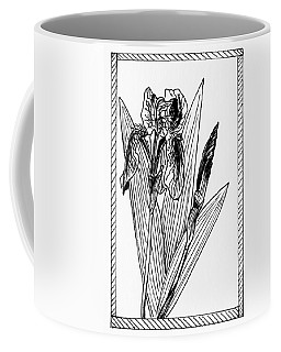Graphic Iris Coffee Mug