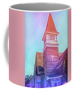 Coffee Mug featuring the photograph Graphic Rainbow Cathedral Cafe by Aimee L Maher Photography and Art Visit ALMGallerydotcom