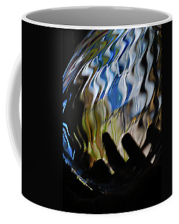 Coffee Mug featuring the photograph Grasping At Curves by Susan Capuano