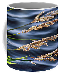 Coffee Mug featuring the photograph Grass And A Breeze by Nikolyn McDonald