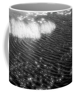 Grass And Water And Lilly Pads Bw2  Coffee Mug