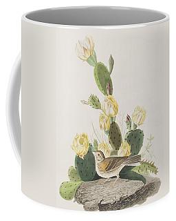 Grass Finch Or Bay Winged Bunting Coffee Mug
