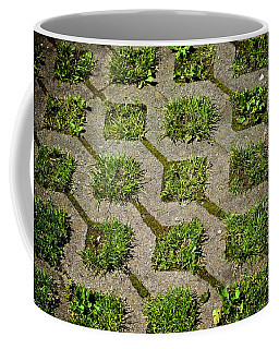 Grass Grows Green Coffee Mug by Eric Tressler