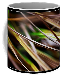 Coffee Mug featuring the photograph Grass by Michaela Preston