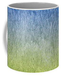 Grass On Blue And Green Coffee Mug