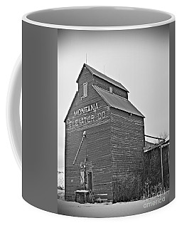 Grass Range Granary Bw Coffee Mug