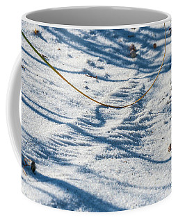 Grass Scapes In The Sand Coffee Mug