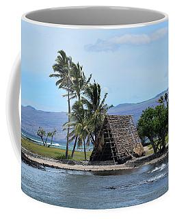 Coffee Mug featuring the photograph Grass Shack by Pamela Walton