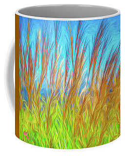 Grasses By The Sea Coffee Mug