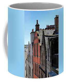 Coffee Mug featuring the photograph Grassmarket In Edinburgh, Scotland by Jeremy Lavender Photography