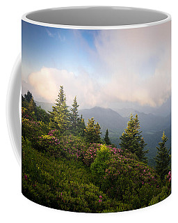 Grassy Ridge Rhododendron Bloom Coffee Mug