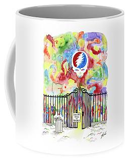 Grateful Dead Concert In Heaven Coffee Mug