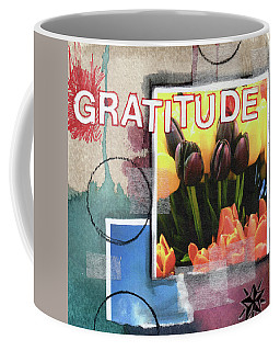 Gratitude- Art By Linda Woods Coffee Mug