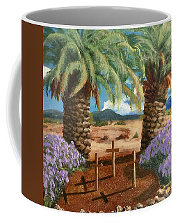 Coffee Mug featuring the painting Gratitude Reminder  by Bonnie Heather