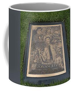 Gravesite Of Don Knotts - Westwood Cemetery Coffee Mug