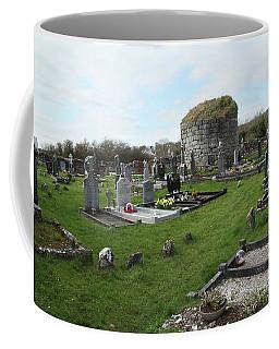 Coffee Mug featuring the photograph Graveyard Antigua Iglesia De Killinaboy Ireland by Marie Leslie