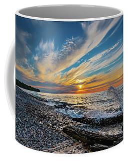 Graveyard Coast Sunset Coffee Mug