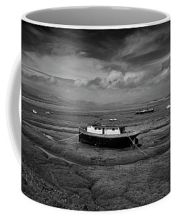 Coffee Mug featuring the photograph Graveyard by Keith Elliott