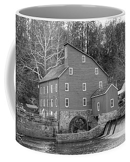 Gray Autumn At The Old Mill In Clinton Coffee Mug