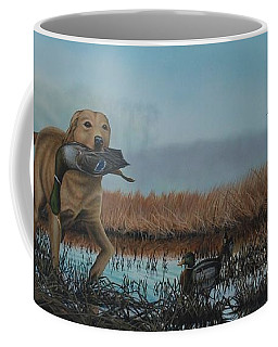 Gray Day Mallards Coffee Mug