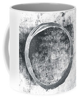 Gray Enso Coffee Mug