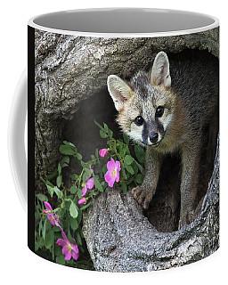 Gray Fox Kit Coffee Mug
