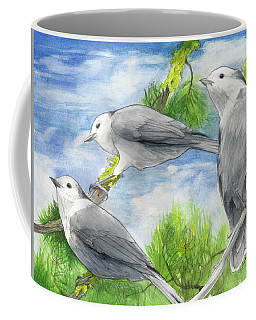 Gray Jays Trio Coffee Mug