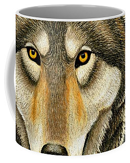 Gray Wolf Portrait Coffee Mug
