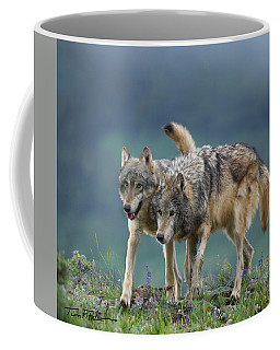 Gray Wolves Coffee Mug