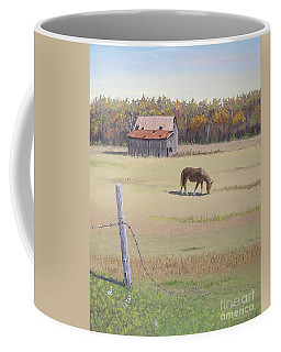 Grazing At Peace Coffee Mug by Norm Starks