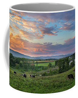 Grazing At Sunset Coffee Mug