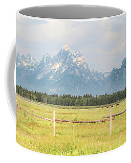 Grazing Bison Coffee Mug