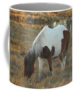 Grazing In The Grass Coffee Mug by Scott Cameron
