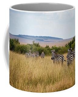 Grazing Zebras Coffee Mug