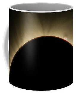 Great American Eclipse Prominence 16x9 Totality Prominence 16x9 As Seen In Albany, Oregon. Coffee Mug