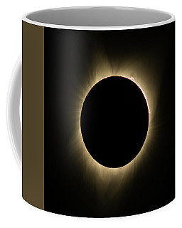 Great American Eclipse Totality Square Coffee Mug