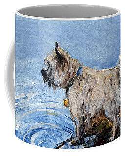 Coffee Mug featuring the painting Great Bay by Molly Poole