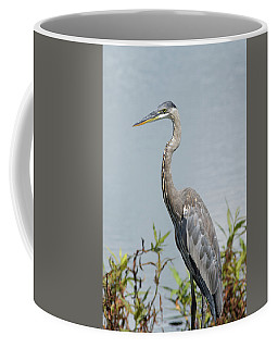 Great Blue Heron #2 Coffee Mug