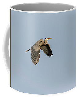 Coffee Mug featuring the photograph Great Blue Heron 2015-15 by Thomas Young