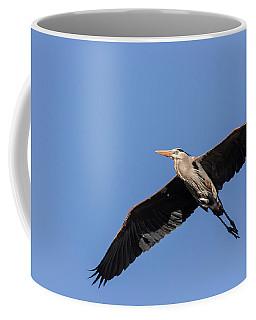 Great Blue Heron 2017-6 Coffee Mug by Thomas Young