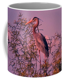 Great Blue Heron - Artistic 6 Coffee Mug