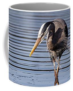Great Blue Heron - Looking Hard Coffee Mug