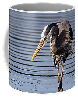 Great Blue Heron - Looking Hard Coffee Mug